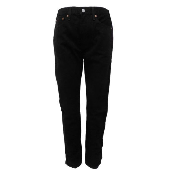LEV522BB LEVI SLIM TAPER BLACK JEANS 34827 0000