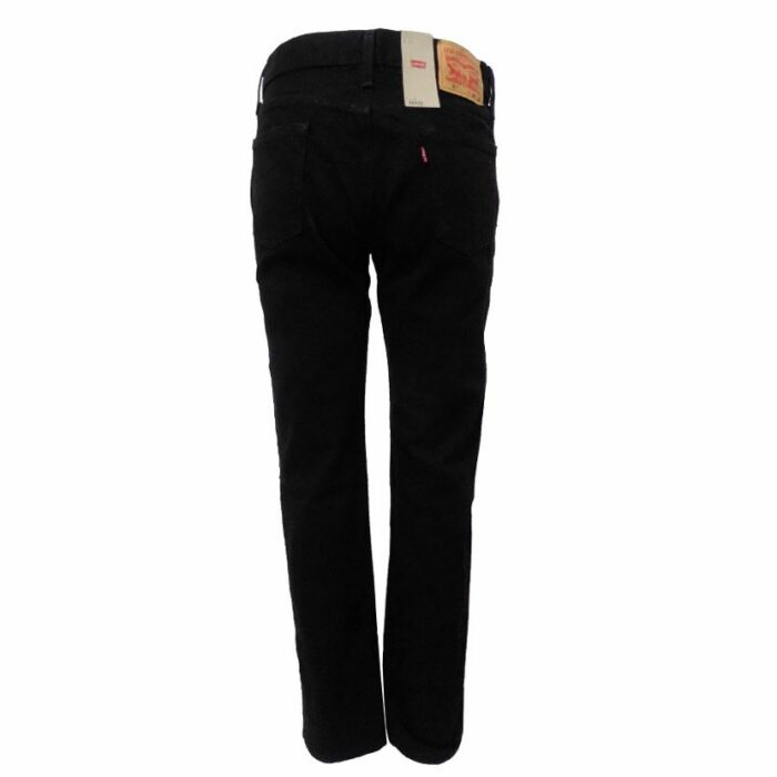 LEV522BB LEVI SLIM TAPER BLACK JEANS 34827 0000 v3