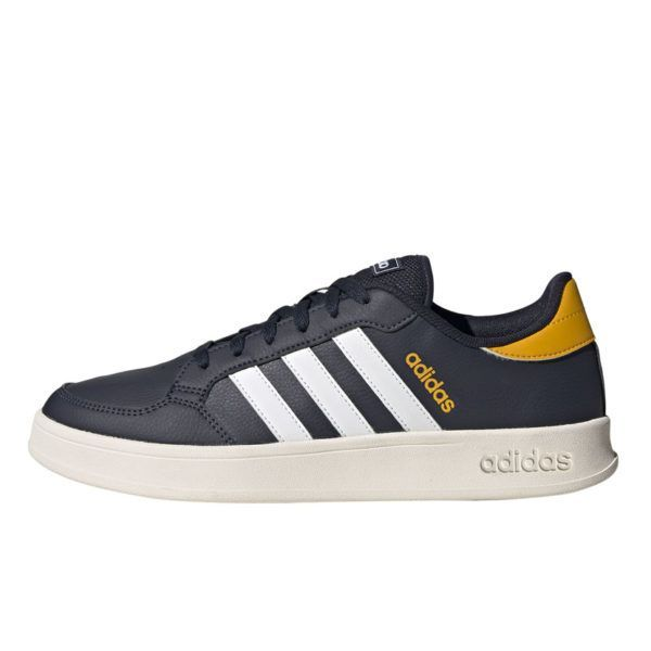 ADD3489I ADIDAS BREAKNET MENS NAVY YELLOW FX8712 V1