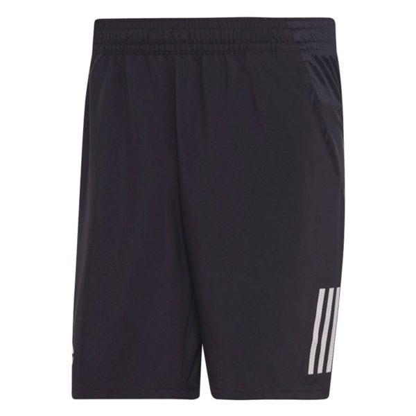 ADD3849B 3 Stripes 9 inch Shorts Black White DU0874 V1 1