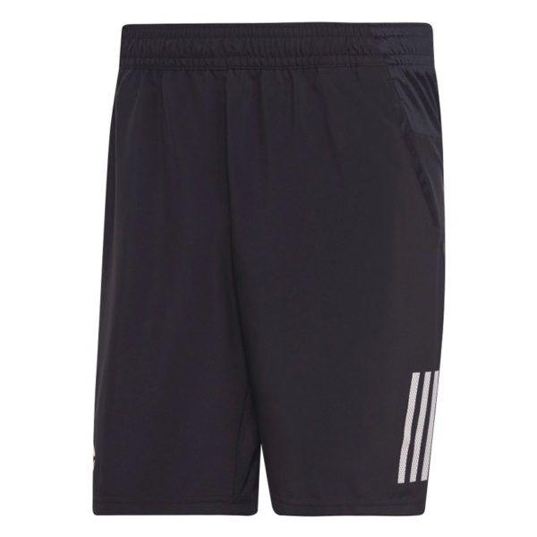 ADD3849B 3 Stripes 9 inch Shorts Black White DU0874 V1