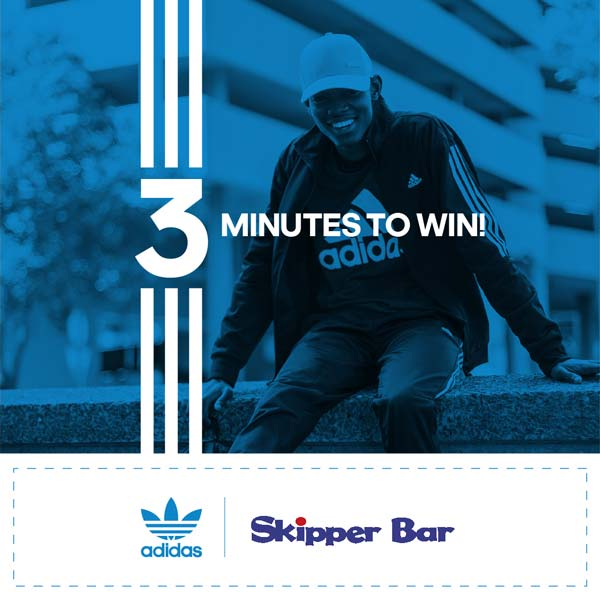 Buy the Brand with the 3 Stripes Win your share of R300 000 Skipper Bar adidas Competition 1