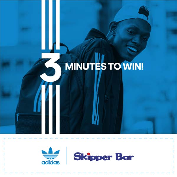 Buy the Brand with the 3 Stripes Win your share of R300 000 Skipper Bar adidas Competition 2