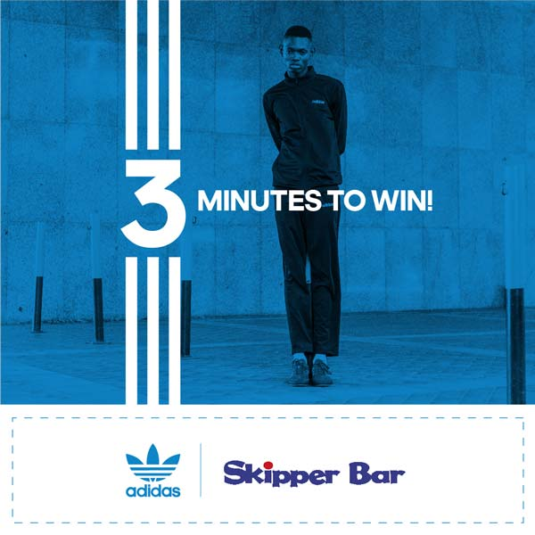 Buy the Brand with the 3 Stripes Win your share of R300 000 Skipper Bar adidas Competition 3