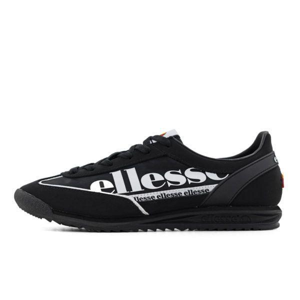 ELL1125B ELLESSE MONZA 2 BLACK WHITE SHFU0750 V1