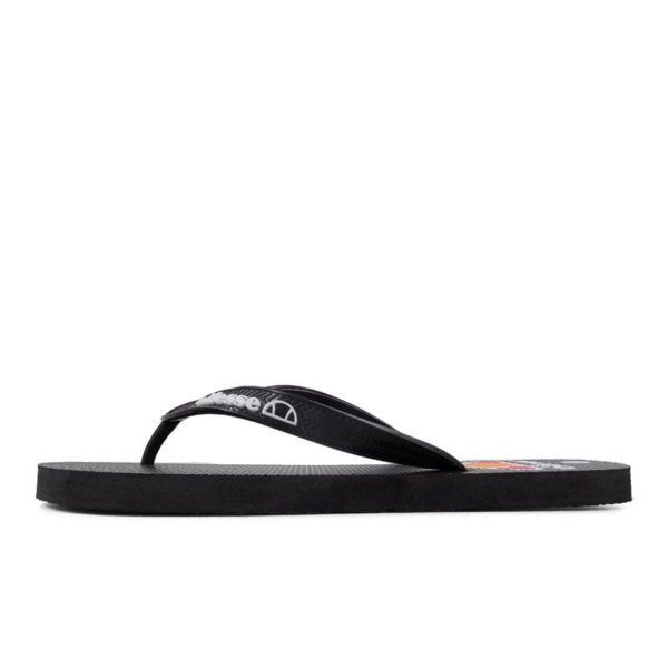 ELL1130B Fashion Flip Flop Charcoal Black M201294A V1