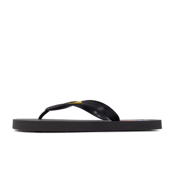 ELL1131CH Fashion Flip Flops Mens Charcoal M201293C V1