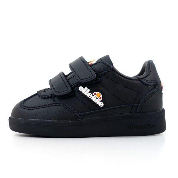 ELL356IBB ellesse Calcio Infants Black Black SHFU0295 V1
