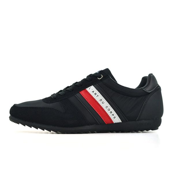 KOS920B Nikos Casual Shoes Black Red White NKS20 300F V1