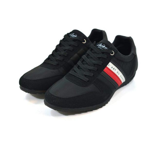 KOS920B Nikos Casual Shoes Black Red White NKS20 300F V3