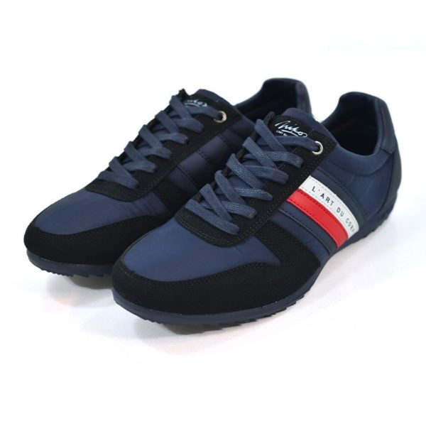 KOS920N NIKOS Casual Shoe Navy White Red NKS20 300F V3