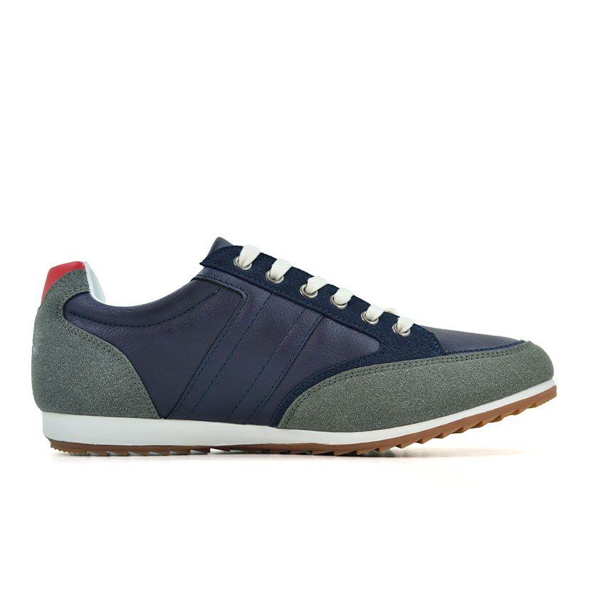 KOS921 Nikos Casual Shoes Navy Dark Grey NKS20 301F V2