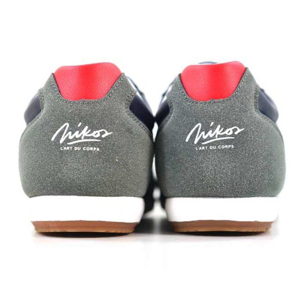 KOS921 Nikos Casual Shoes Navy Dark Grey NKS20 301F V5