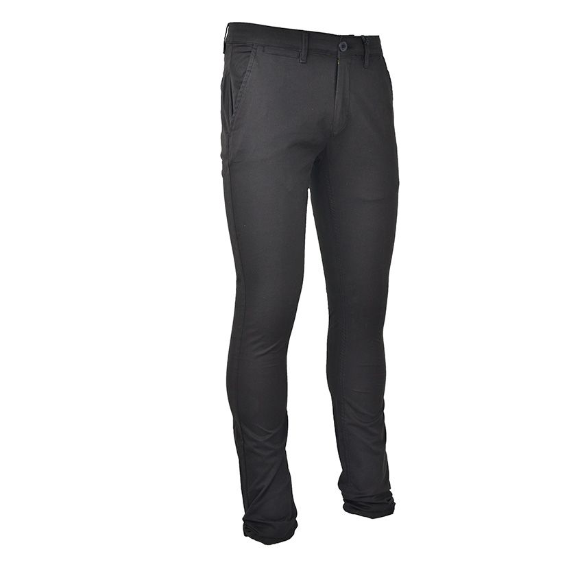 KOS980B Stretch Chino Black NKS20 375B V2