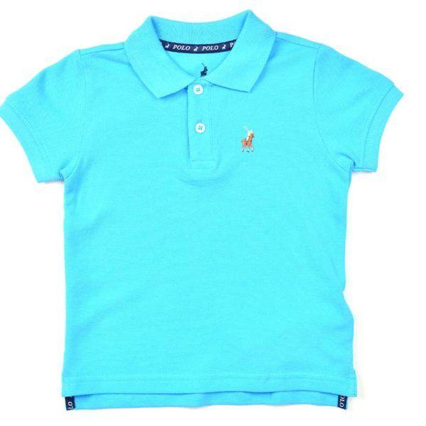 POL292KBL Austin Golfer Kids Blue P6002035110500273 V1