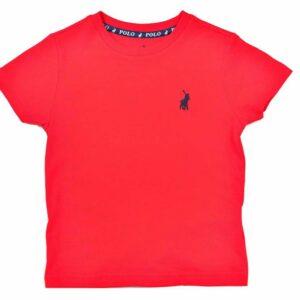 POL294KR Boys RickTee Kids Red P6002035110100185 V1