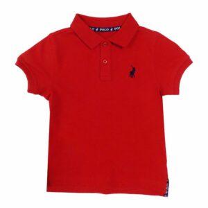 polo austin golfer kids red pol292kr 782