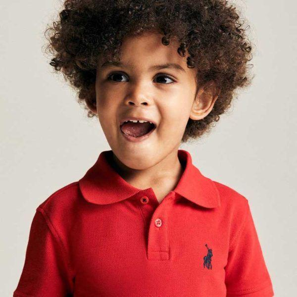 polo austin golfer kids red pol292kr c25