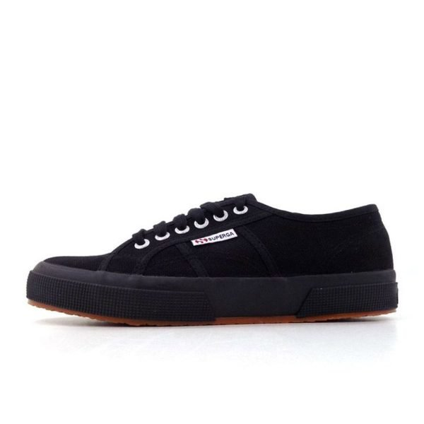SUP2YB Superga Classic Canvas Black 2750 V1