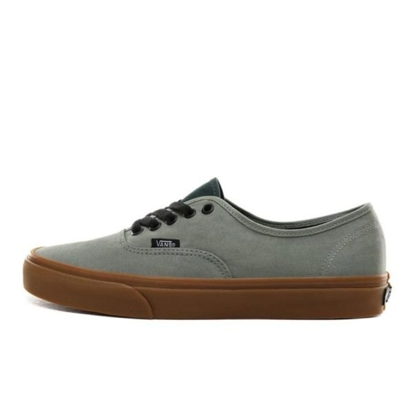 vans gum authentic canvas mens shadow green van8gg a06