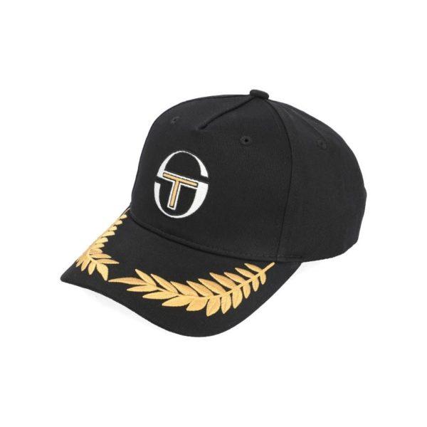 CSERGIO TACCHINI STS20 045C GOLD EMB CAP BLACK 3