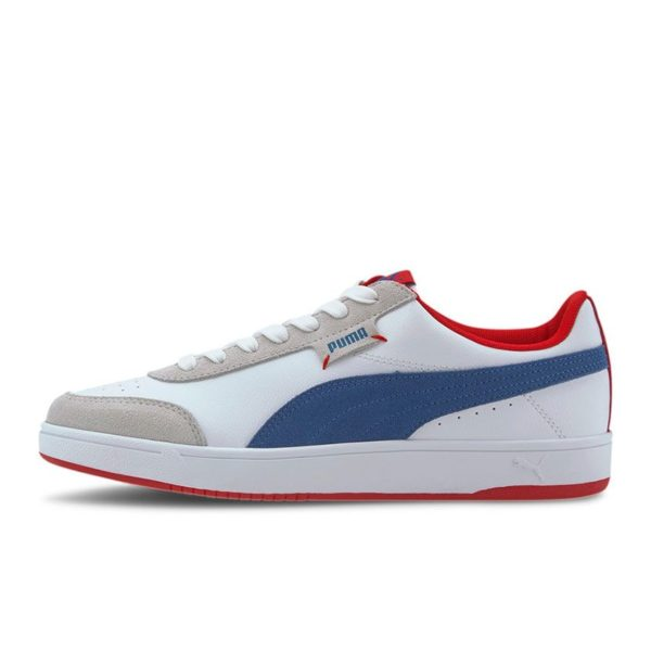 PMA2333W PUMA Court Legend LO White Red 37193105 V1