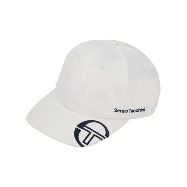 SER24W SERGIO TACCHINI STS20 043C TECH FABRIC CAP WHT 2