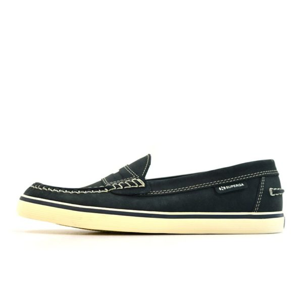 SUP23DL Superga Mocassin D Lake Black V1