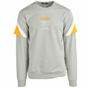 KOS1024SA Nikos Fleece Crew Neck NKW21 415 V1