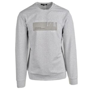 KOS1031G NIKOS FLEECE CREW NECK GREY NKW21 422A V1