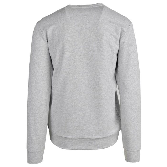 KOS1031G NIKOS FLEECE CREW NECK GREY NKW21 422A V4