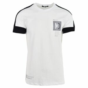 KOS983W NIKOS MENS BASIC T SHIRT White NKW21 378A V1