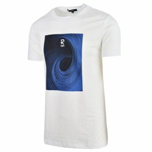 KOS986W NIKOS MENS BASIC T SHIRT White NKW21 381A V2