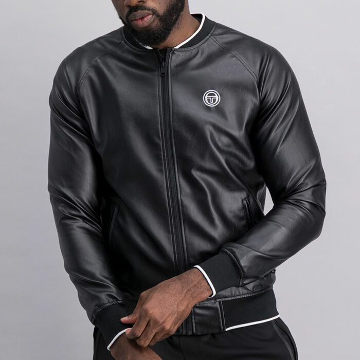 SER52AN Leather Bomber Jacket 1