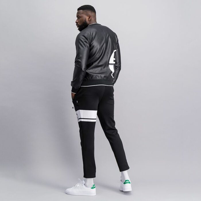 SER52AN Leather Bomber Jacket 11