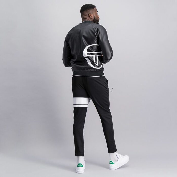 SER52AN Leather Bomber Jacket 9